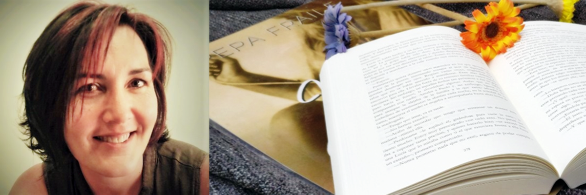 """Pepa Fraile, autora de """"Lucía y el reposo de las palabras"""""""