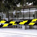 Tancament Biblioteca Sant Ildefons